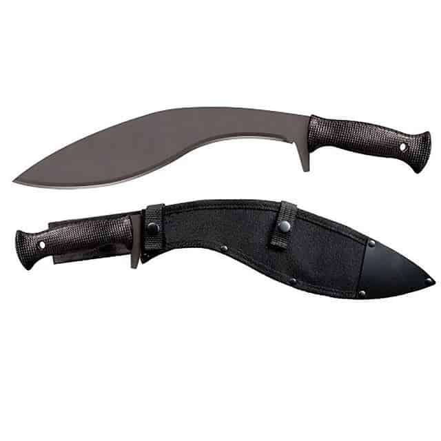 Cold-Steel-Kukri-Plus-Machete-with-Sheath-Black